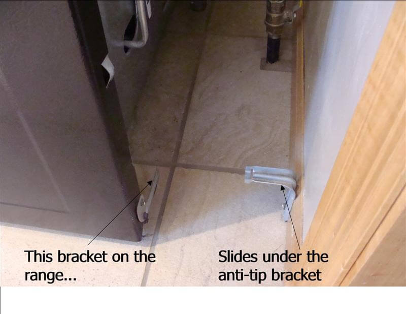Q Amp A Are Anti Tip Brackets Required On Ranges Structure