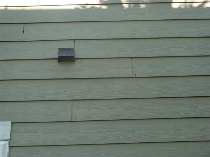 Problems With James Hardie 174 Siding Installations
