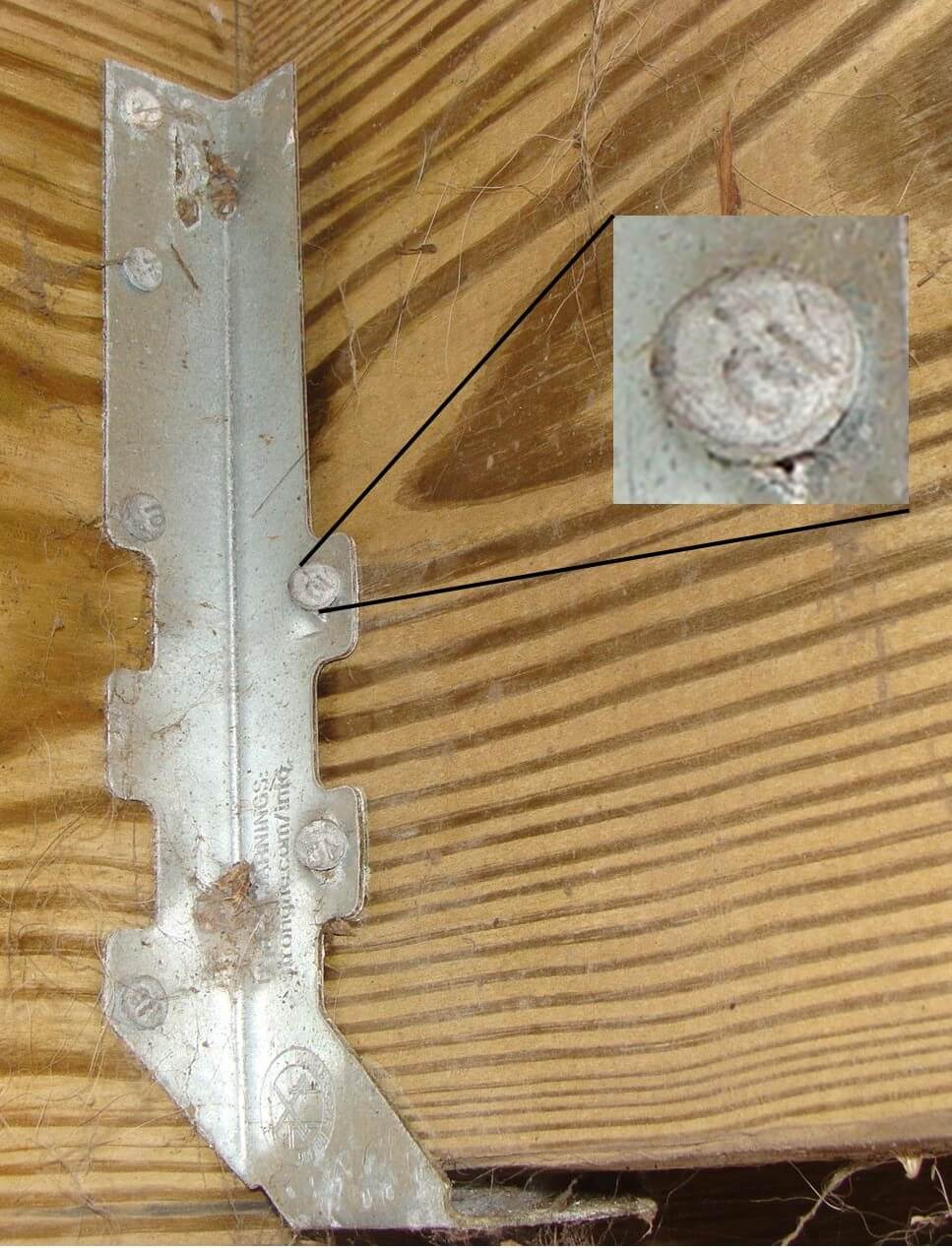 Joist Hanger Installation Defects