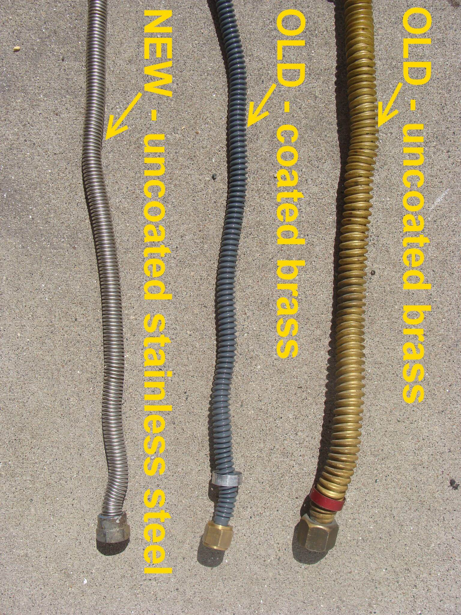gas appliance connectors