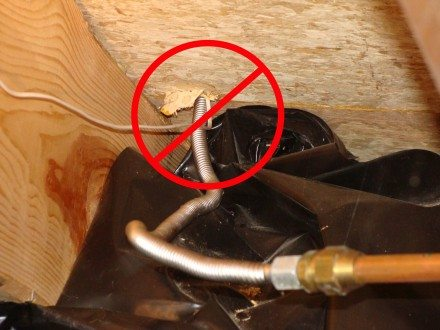 Gas Appliance Connectors Structure Tech Home Inspections