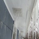 Ice filled soffit