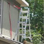 """You look out for OSHA, I'll paint the soffit."""