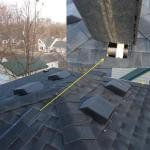 Missing Roof Vent – Nice solution.
