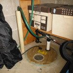 Sump Pump to Sanitary Sewer