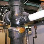 Improper drain repairs 3