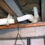 Improper drain repairs 2