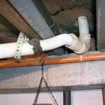 Improper drain repairs 2