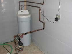 Where to drain water softener