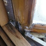 Condensation Staining at window
