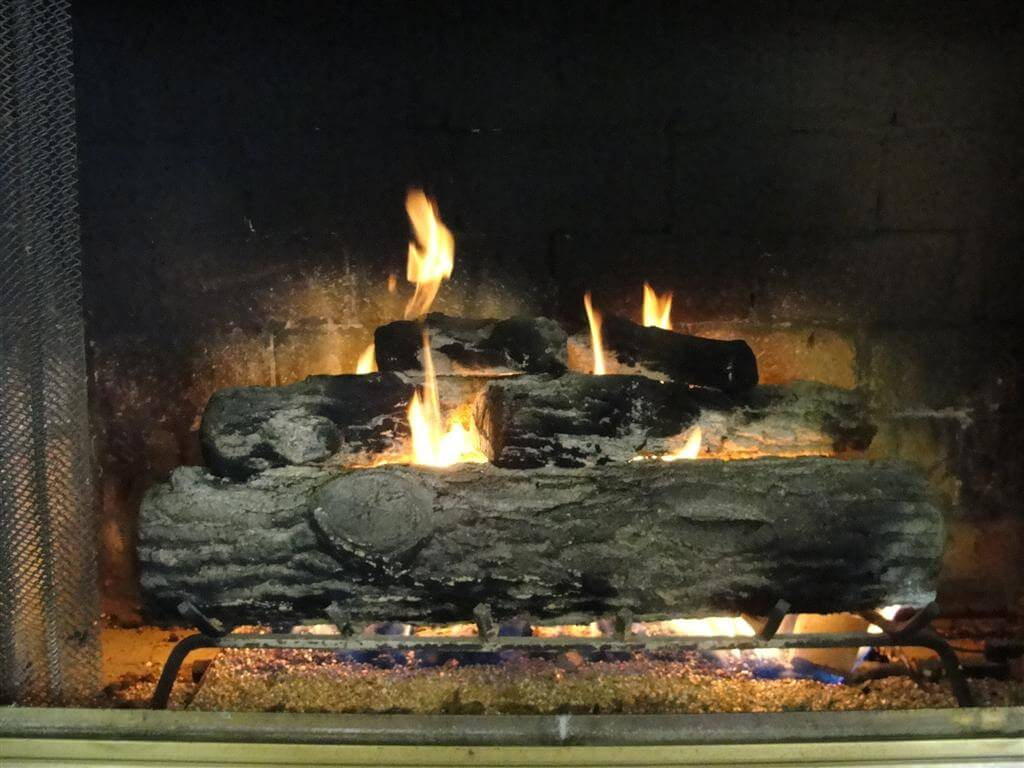 - My Beef With Old Gas Log Fireplaces