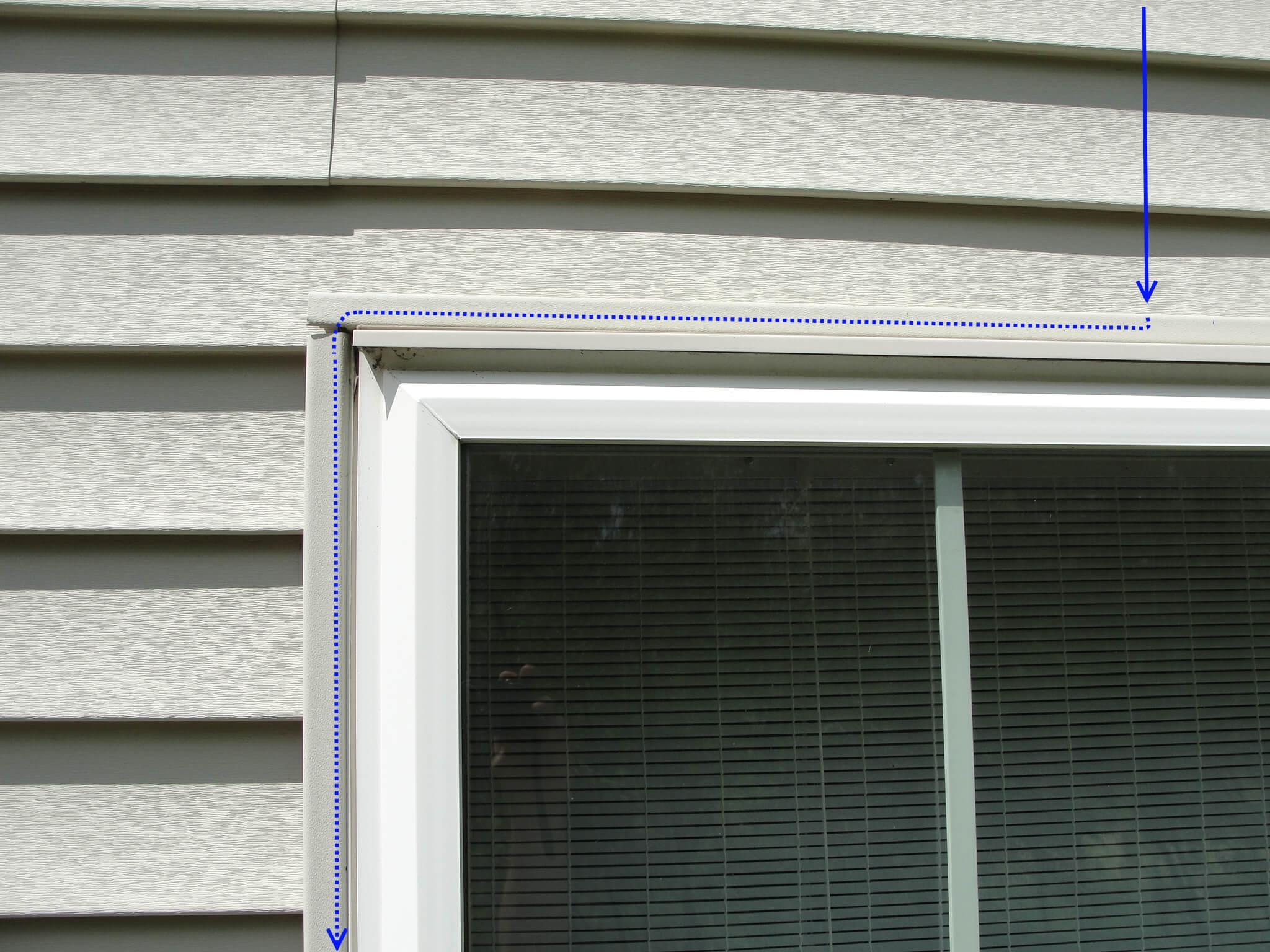 Window stains window leaks homesmsp for Window flashing