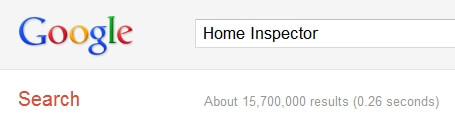 Home Inspector Search