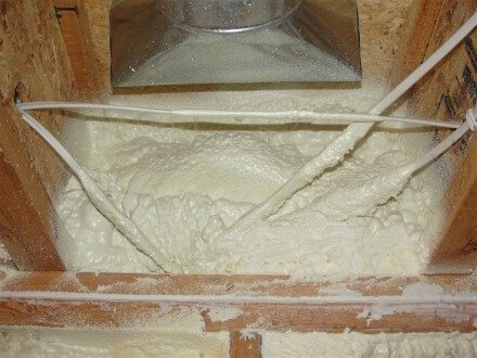 Spray Foam at Rim Space