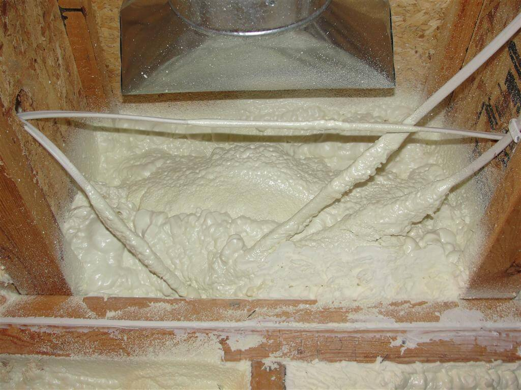 Insulating Your Basement Start With The Rim Joist Wiring Walls Spray Foam At Space