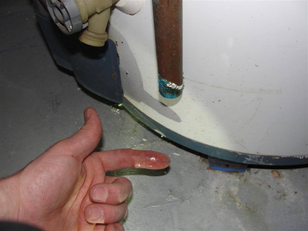 Water Dripping From Water Heater Flue