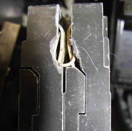 broken tandem breaker