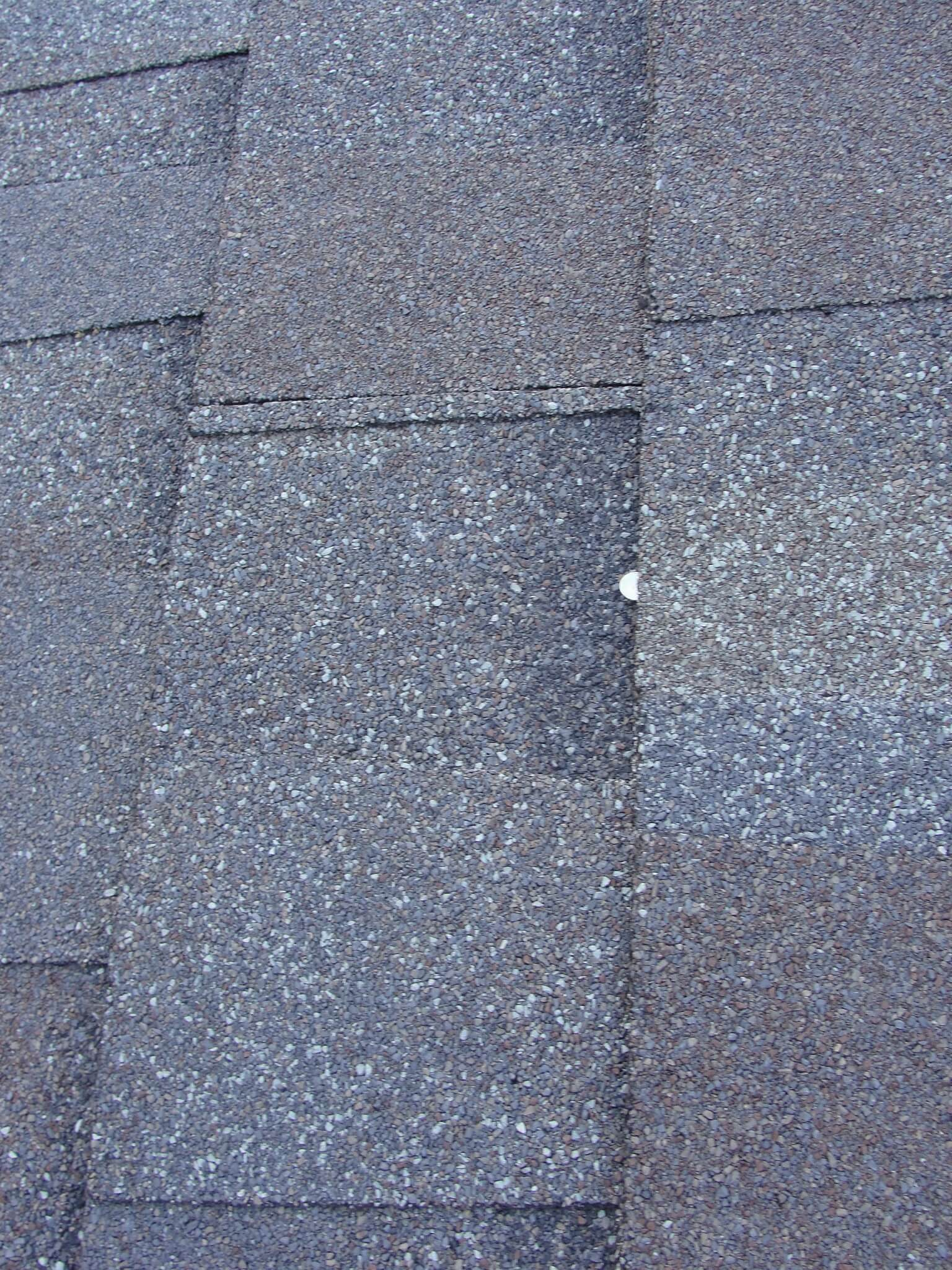 Improper Shingle Nailing Defective Roof Installation
