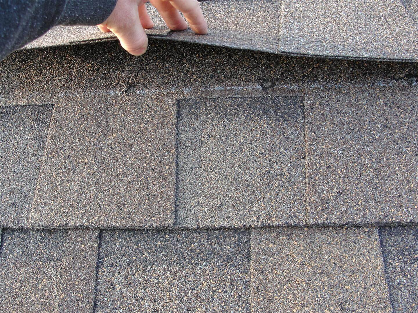 Improper Shingle Nailing