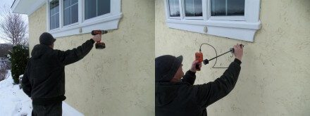 Invasive Stucco Testing
