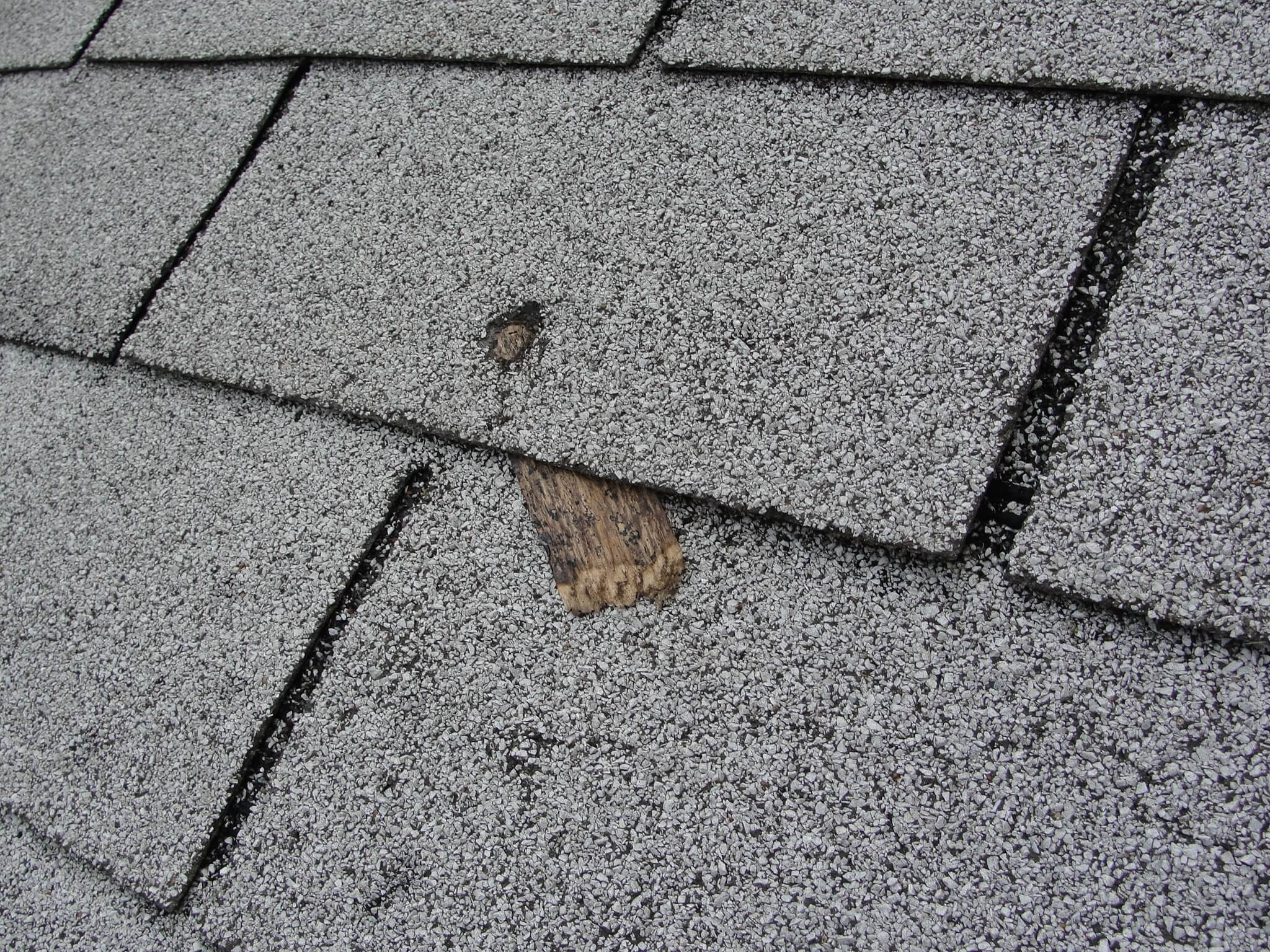 Another Common Roof Installation Defect Short Nails
