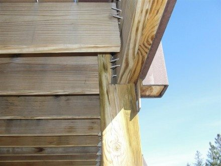 Decks - missing joist hanger