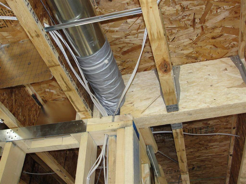 #674728 Photos From New Construction Home Inspections Part II  Recommended 4417 Hvac Duct Work pics with 1024x768 px on helpvideos.info - Air Conditioners, Air Coolers and more