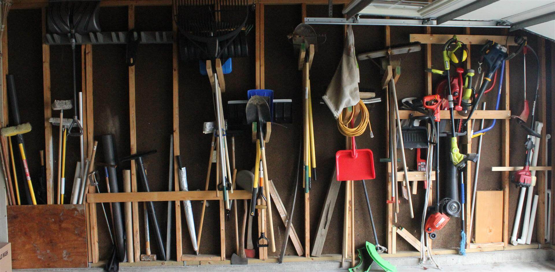 Uncategorized How To Hang Tools On A Pegboard garage organization its tough to beat pegboard startribune com before pegboard