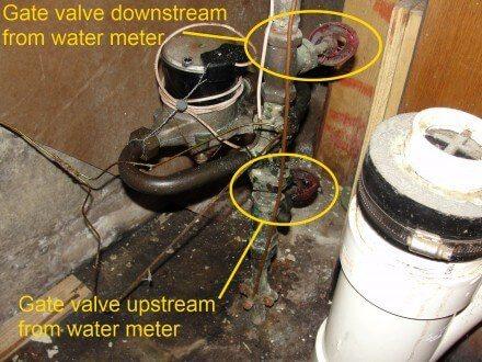 Main shutoff valves
