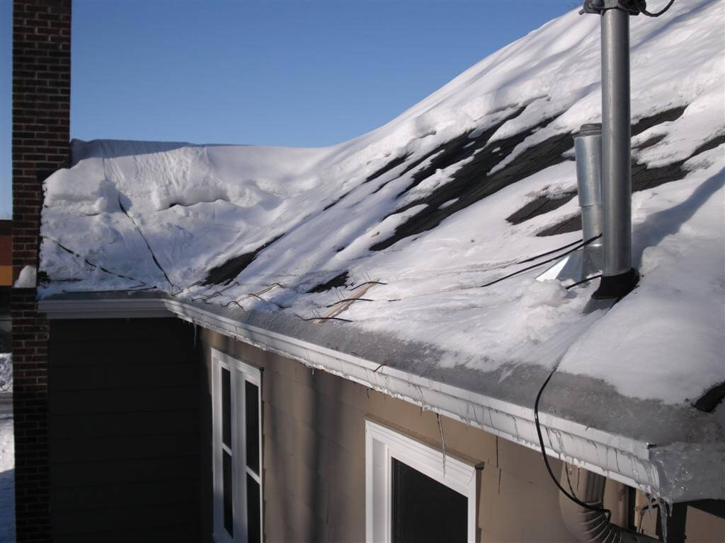 roof wires melt ice