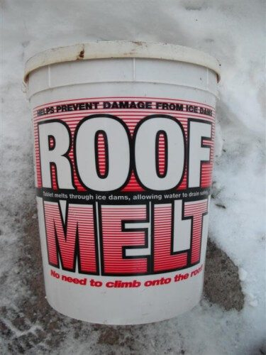 Roof Melt Tablet Container