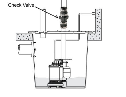 Check valve diagram