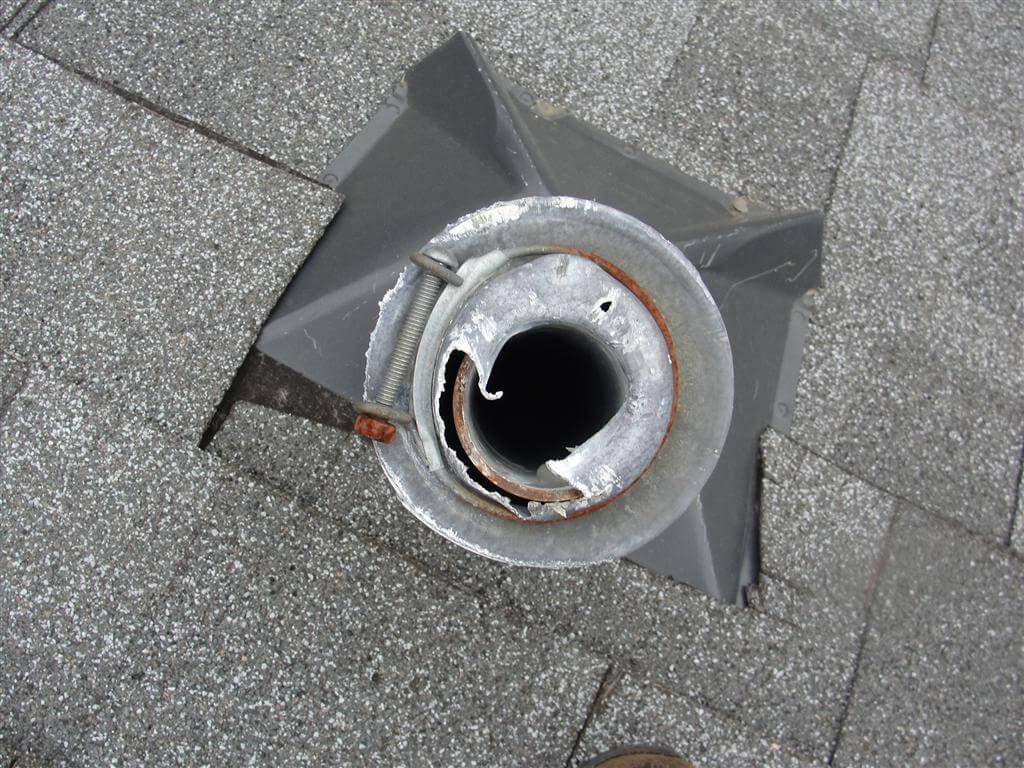 Damaged Plumbing Vent Caps Easy Repair Homesmsp