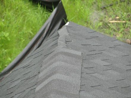 Roof - missing shingles