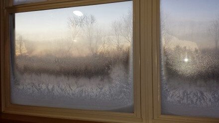 Frosty the Window