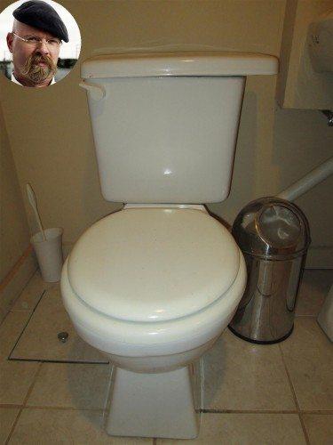 Jamie Hyneman Toilet