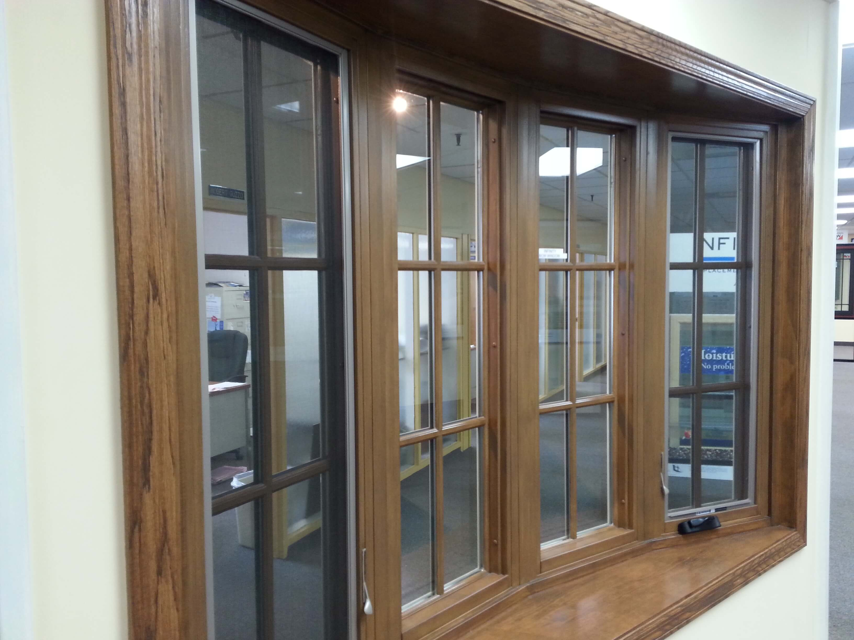 Interior wood windows - Marvin Infinity With Everwood Interior