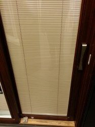 Pella Blinds in the Glass