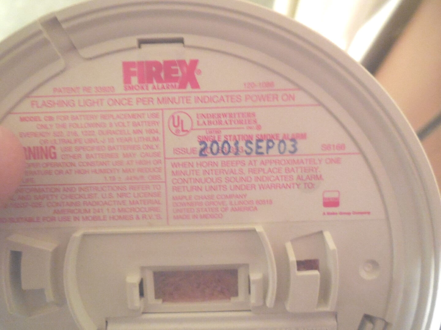 Four Important Smoke Alarm Safety Tips Firex Detector Wiring Diagram 3 Replace Old Alarms