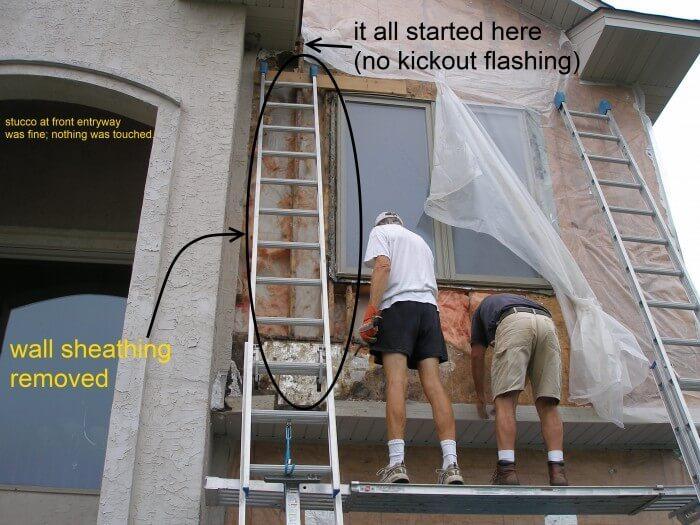 Stucco repairs 1