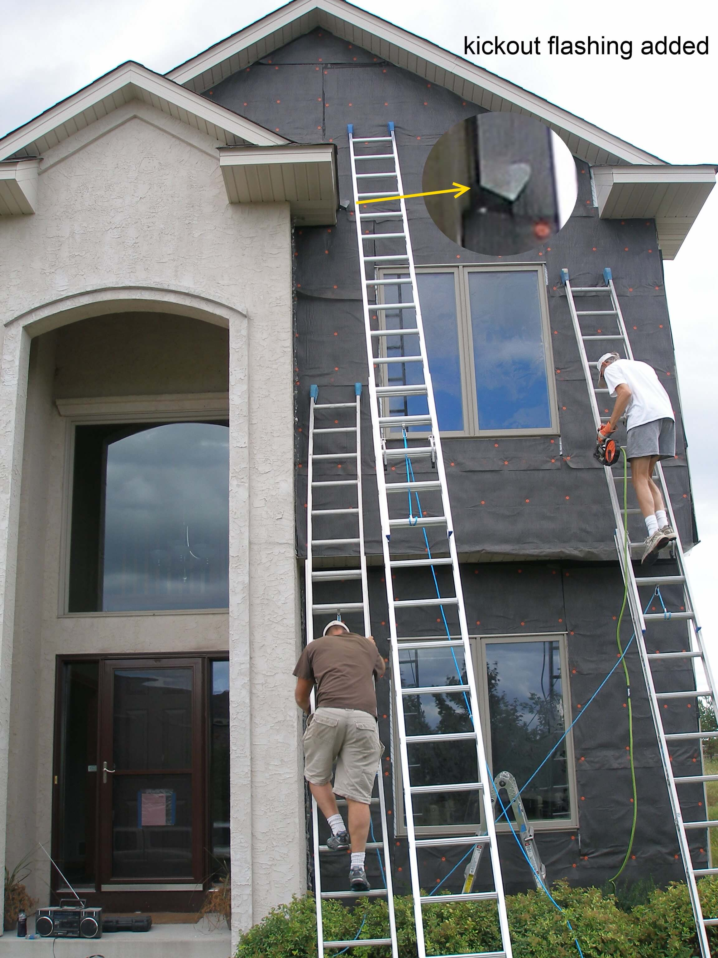 Minnesota Stucco Repairs: Case Study #2