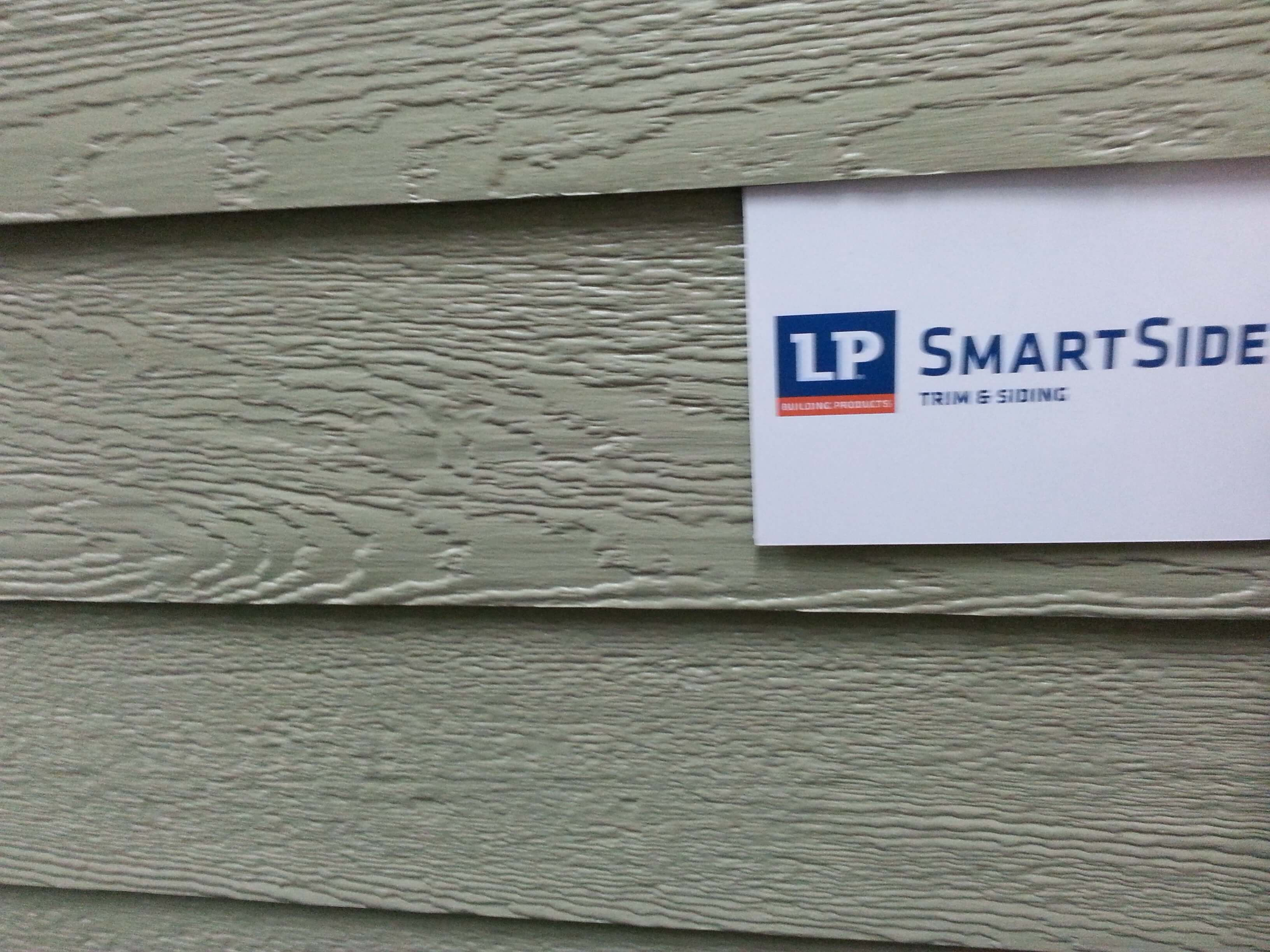Siding replacement wars james hardie vs lp smartside in for Lp engineered wood siding