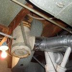 Transite Asbestos Flue, Minneapolis home built in 1929 (age of flue unknown)