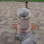 Transite Asbestos Flue, Minneapolis home built in 1954  (#1)
