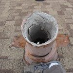 Transite Asbestos Flue, Minneapolis home built in 1954  (#2)