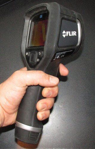 Holding a Flir E6