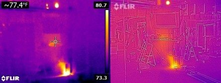 No-MSX vs Flir One