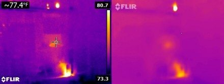 No-MSX vs Flir One Lights Out