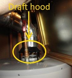 Water Heater Draft Hood