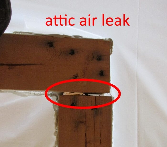 how to detect air leaks in my house